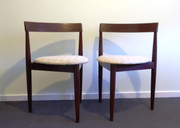 Pair of Danish 1960's Hans Olsen for Frem Rojle Chairs $345 the Pair