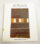 Art Bulletin of Victoria No. 33 National Gallery of Victoria Aboriginal Art