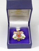 Modern Crest Badge Integrity by Toye Kenning Spencer London