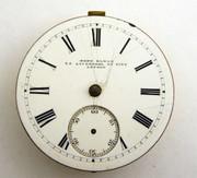 John Elkan Liverpool 1800s Antique  Mechanical Pocket Watch Movement for  Parts