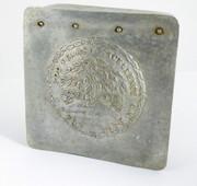 1928 J S Fry Chocolate 200 Year Anniversary Aluminium Tin  1728 - 1928