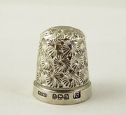 Antique 1923 Sterling Silver Sewing Thimble 13 Henry Griffith & Sons