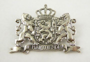 Dutch Silver Badge Netherlands Coat of Arms