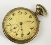 Antique Mechanical Pocket Watch for Restoration or Parts  Steampunk