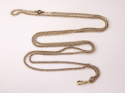Very long Antique Silver Pocket Watch Chain 42cm Long