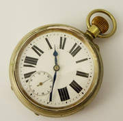 Extra Large Thick Heavy 1900s Pocket Watch 66cm wide Railway?