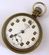 Vintage Ingersoll Crown Mechanical Pocket Watch Needs Work