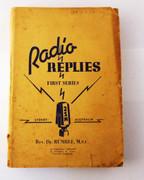 Australian Book Radio Replies First Series 2SM Sydney Rev Dr Rumble MSC
