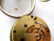 Antique 1889 Sterling Silver Pocket Watch G H Osmond 118 Aldates st Oxford