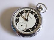 Vintage  Luminous Dialed Ingersoll Mechanical Pocket Watch Temperamental $80