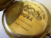 Antique Early 1900s DOXA  German .800  Pocket Watch