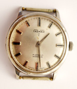 Vintage Gents Tasman 17 Jewels Swiss Wrist Watch (Needs Work)