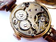 Antique 1916 Gold 9ct Ladies Rolex Mechanical Watch Suzanne Kidman