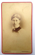 1860s Victorian Carte de Visite Card Photograph by Bennet of Worcester