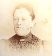 1870s Victorian Carte de Visite Card Photograph by Debenham & Gould of Bournemouth