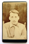 1870s Victorian Carte de Visite Card Photograph of a Man
