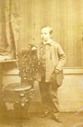 1870s Victorian Carte de Visite Card Photograph by C Hawkins