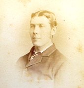 1870s Victorian Carte de Visite Card Photograph by A & G Taylor of London