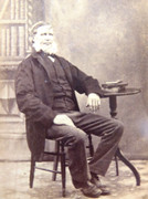 1870s Victorian Carte de Visite Card Photograph of Seated  Victorian man