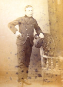 1870s Victorian Carte de Visite Card Photograph Inscribed Bob Howard