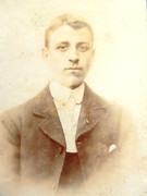 1880s Victorian Carte de Visite Card Photograph of Young Gentleman