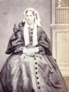 1880s Victorian Carte de Visite Card Photograph by Howie Junior of Edinburgh