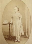 1880s Victorian Carte de Visite Card Photograph by C Braitwaite of Leeds