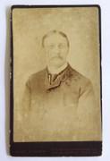 1880s Victorian Carte de Visite Card Photograph by E T F Goodwin