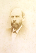 Dr Richard Williams 1880s Victorian Carte de Visite Card Photograph by Wilson of Liverpool