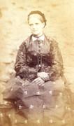1880s Victorian Carte de Visite Card Photograph Lady in Dress