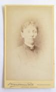 1880s Victorian Carte de Visite Card Photograph Brombarns Bell