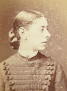 1880s Victorian Carte de Visite Card Photograph by T C Turner of Barnsbury Park