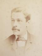 1880s Victorian Carte de Visite Card Photograph by Wilson & Co