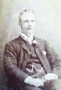 Victorian Carte de Visite Card Photograph by F J  Brett of Lower Clapton