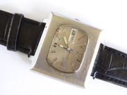 1960s  Vintage Square Cased Sekio 5 Automatic  Jewel  Wrist Watch Swiss Made with Date