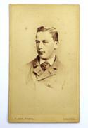 Victorian Carte de Visite Card Photograph by H Cox of Dalston
