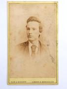 1860s Victorian Carte de Visite Card Photograph by  Hum & Bishopp