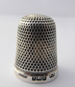 Antique 1924 Sterling Silver Sewing  Thimble Henry Griffith & Sons