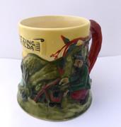Australian Pottery Diana Musical Mug Waltzing Matilda