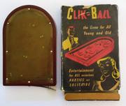 1940s Australian Bakelite Pinball Game Amtco Products Click-Ball Britelite Plastics