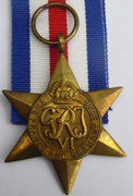 Original  Issued  Unnamed WW2 Commonwealth Military The France & Germany Star  Medal with Ribbon