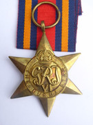 Original  Issued  Unnamed WW2 Commonwealth Military The Burma Star  Medal with Ribbon