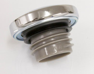 Thread In HD Style Vented Gas Cap - Chrome