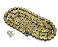 530 Gold Heavy Duty Motorcycle Chain 120 Links