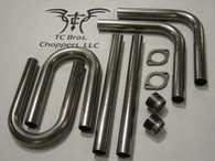 "xs 650 Do-it-Yourself Pipe Kit (1.5"""") exhaust"