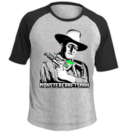 Monstercraftsman Wayne RayGun Short Sleeve Sporty Tee