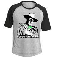 Monstercraftsman Wayne RayGun Short Sleeve Sporty Tee