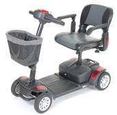 Spitfire EX Travel 4-Wheel Mobility Scooter  - spitfire142016fs12