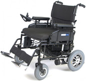 Heavy Duty Folding Power Wheelchair - wildcat450bk24ss