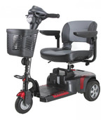 Phoenix 3 Wheel Heavy Duty Scooter - phoenixhd3